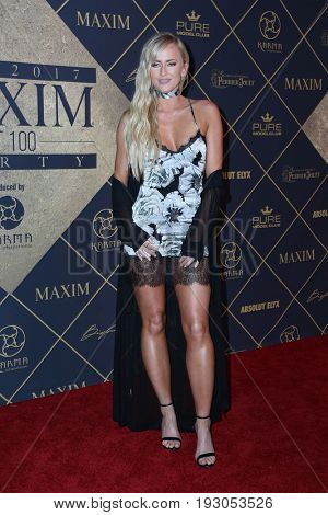 LOS ANGELES - JUN 24:  Danielle Moinet at the 2017 Maxim Hot 100 Party at the Hollywood Palladium on June 24, 2017 in Los Angeles, CA