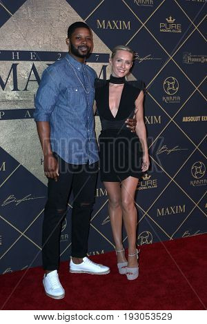 LOS ANGELES - JUN 24:  Kerry Rhodes, Nicky Whelan at the 2017 Maxim Hot 100 Party at the Hollywood Palladium on June 24, 2017 in Los Angeles, CA