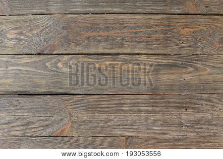 Old Wood Texture Background, Brown Grained Wooden Pattern. Wood panel background. Rustic wooden surface, table top view. Grunge background. Wood texture background with natural pattern. Brown old wooden table, texture of planks.