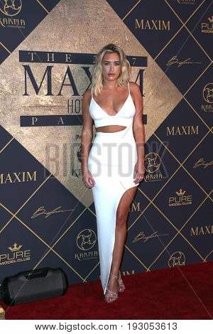 LOS ANGELES - JUN 24:  Antje Utgaard at the 2017 Maxim Hot 100 Party at the Hollywood Palladium on June 24, 2017 in Los Angeles, CA
