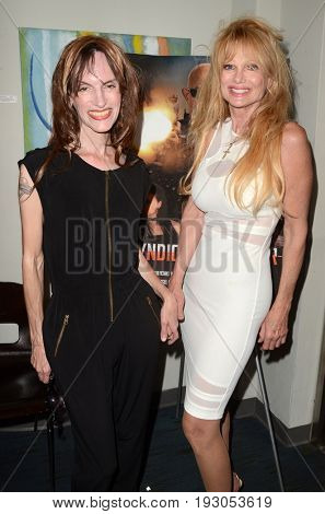 LOS ANGELES - JUN 25:  Lisa French, Laurene Landon at