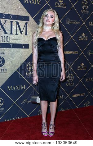 LOS ANGELES - JUN 24:  Peyton List at the 2017 Maxim Hot 100 Party at the Hollywood Palladium on June 24, 2017 in Los Angeles, CA
