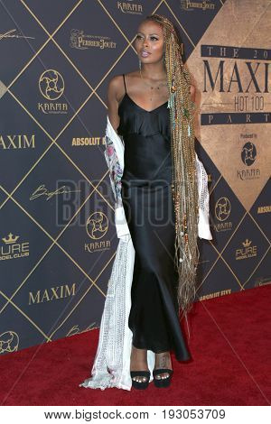 LOS ANGELES - JUN 24:  Eva Marcille at the 2017 Maxim Hot 100 Party at the Hollywood Palladium on June 24, 2017 in Los Angeles, CA