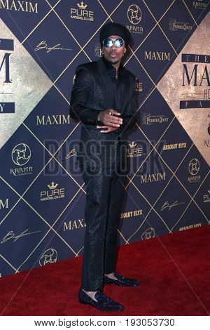LOS ANGELES - JUN 24:  Nick Cannon at the 2017 Maxim Hot 100 Party at the Hollywood Palladium on June 24, 2017 in Los Angeles, CA