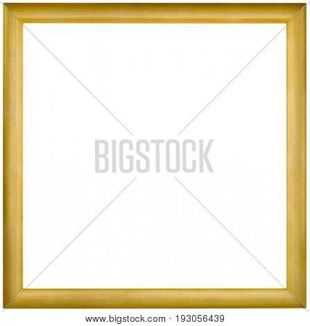 Simple Empty Golden Framework Background Cutout