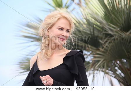 Nicole Kidman attends the 'Top Of The Lake: China Girl' photocall during the 70th annual Cannes Film Festival at Palais des Festivals on May 23, 2017 in Cannes, France.