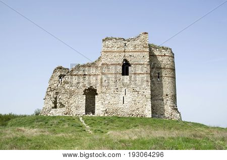 Medieval Byzantine fortress Bukelon village Matochina Bulgaria Europe