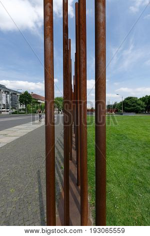 28th of June 2017 in Berlin Germany: The Berlin Wall Memorial
