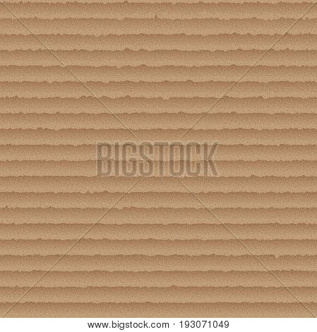 Cardboard seamless pattern - simple endless background with brown carton