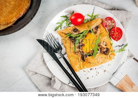 French Crepes Galette Sarrasin