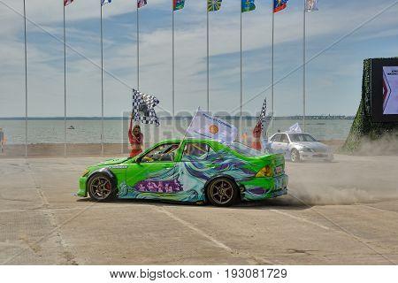 Drift On Army Games-2017. Tyumen. Russia