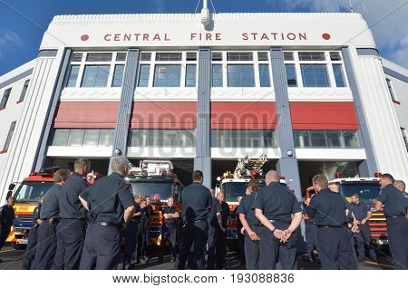Auckland City Fire Station New Zealand