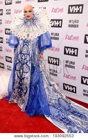 LOS ANGELES - JUN 9:  Sasha Velour at the RuPauls Drag Race Season 9 Finale Taping at the Alex Theater on June 9, 2017 in Glendale, CA