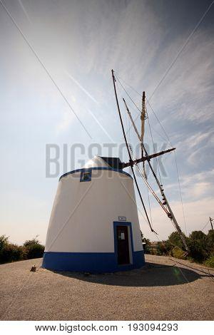 Old windmill,  Portugal