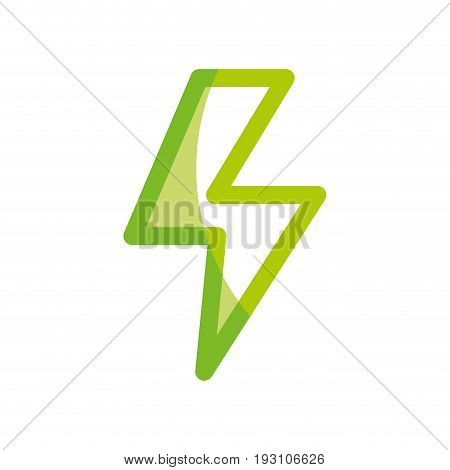 silhouette dangerous energy hazard symbol to security industry vector illustration