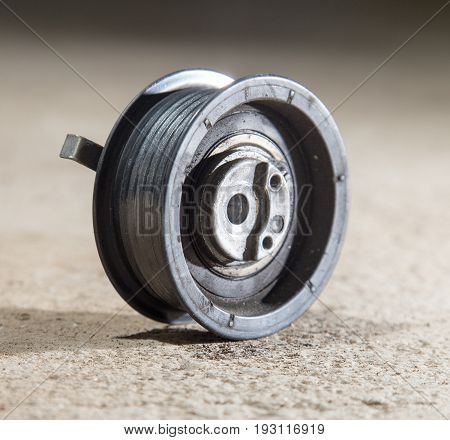 A tension roller motor vehicle . A photo