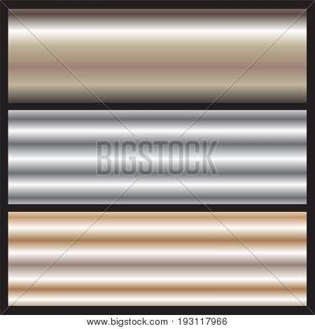 glossy metal curved surface background vector illustration images showing variety metal curved surface styles