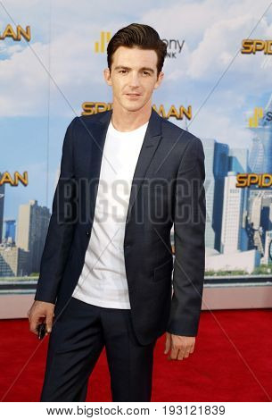 Drake Bell at the World premiere of 'Spider-Man: Homecoming' held at the TCL Chinese Theatre in Hollywood, USA on June 28, 2017.