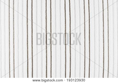 White striped corduroy fabric texture. Abstract background.