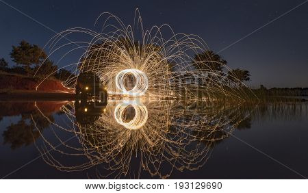 example of long exposure photography & long exposure