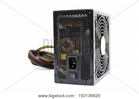 850W Power Supply Unit With Cable And Switch I O, Black Color For Full Atx Tower Case Pc Have Big Fa