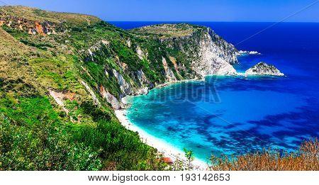 Most beautiful beaches of Greece series - Petani in Kefalonia, I