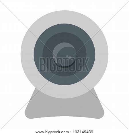 Webcam line icon, device and camera, vector graphics, a linear pattern on a white background, eps 10.