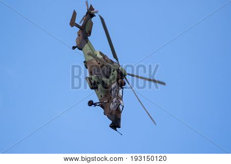 Eurocopter Airbus Tiger Attack Helicopter