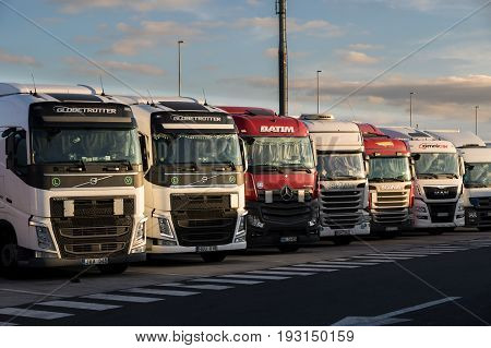 Truck Stop Parking