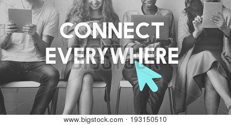 Technology Arrow Cursor Browser Communication
