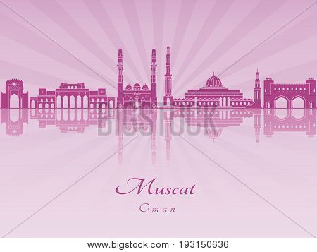 Muscat Skyline In Purple Radiant Orchid