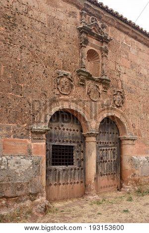 Ermita Del Humilladero In Medinaceli. Soria. Castilla-leon, Spain