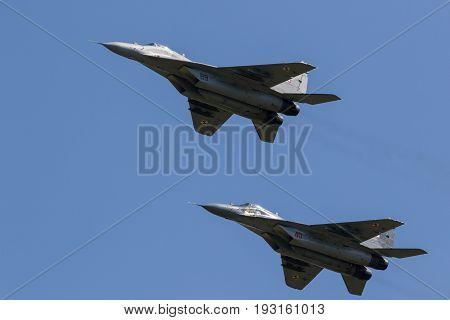 Mig-29 Fulcrum Fighter Jets