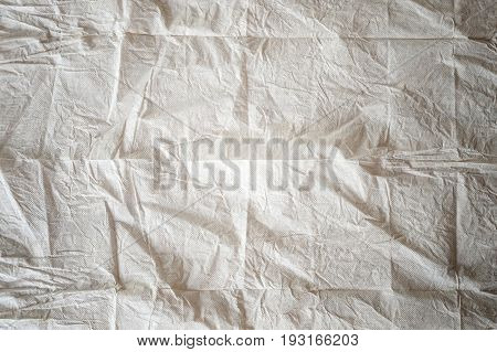 crumple gray tissue paper texture, use for background