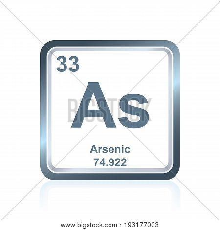 Chemical Element Arsenic From The Periodic Table