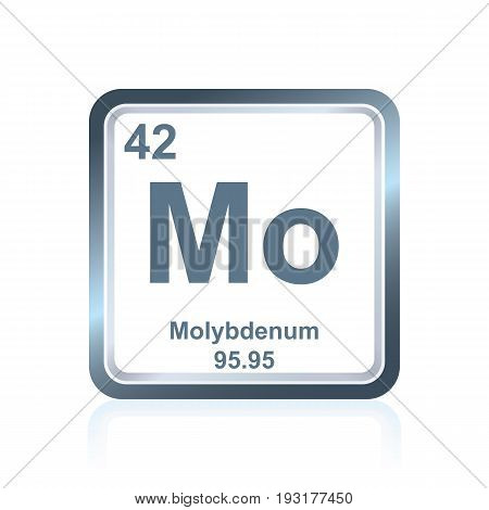 Chemical Element Molybdenum From The Periodic Table