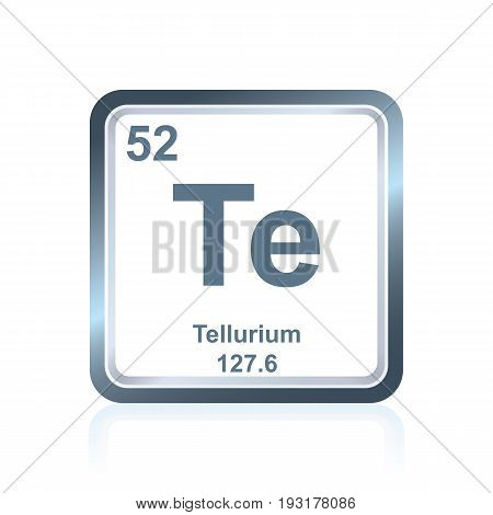 Chemical Element Tellurium From The Periodic Table