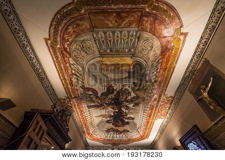 Hospital De Los Venerables Church, Seville, Andalusia, Spain