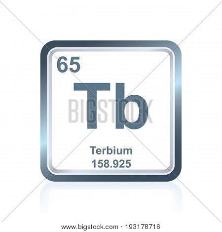 Chemical Element Terbium From The Periodic Table