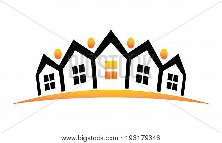 This image describe about Real Estate Logo