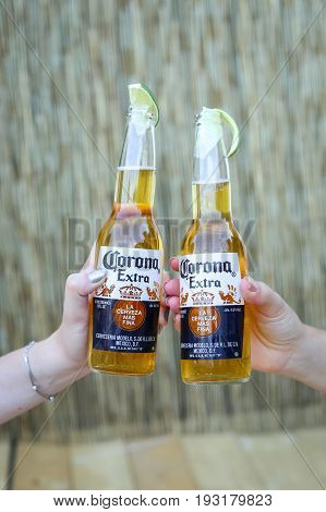 Corona Sunsets Session Party In Zagreb, Croatia