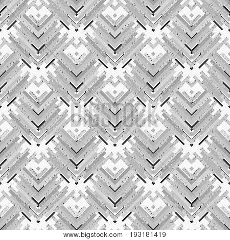 Seamless design. Retro graphic. Memphis ornament. Avant-garde background. Vintage wallpaper. Black and white pattern. Hipster print. Monochrome art. Geometry backdrop. Vector.