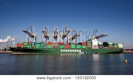 Container Ship Port Shipping