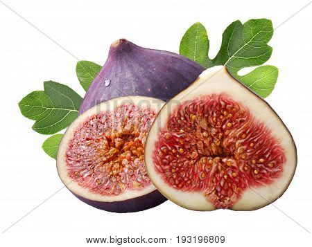 Fig Fruits (ficus Carica), Paths