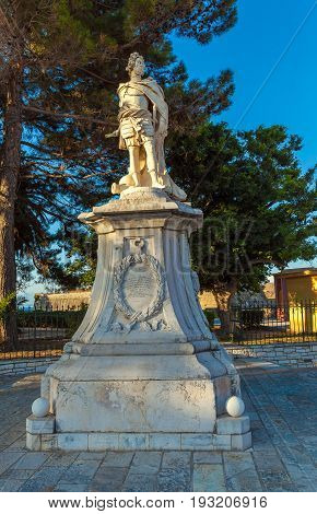 Monument To Schulenburg, Corfu City