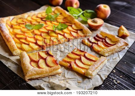 Delicious Peach Pie