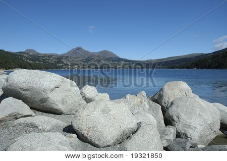 Landscape Lake Mountain