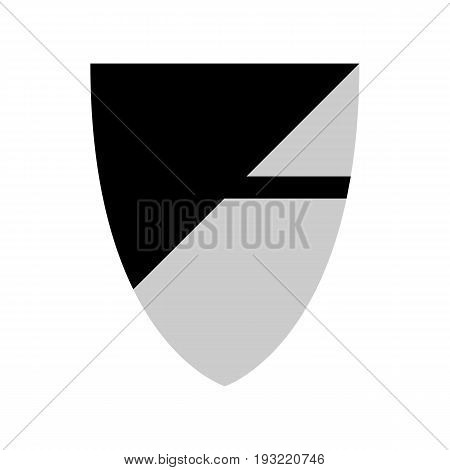 Longyearbyen svalbard shield coat of arms signs symbol set