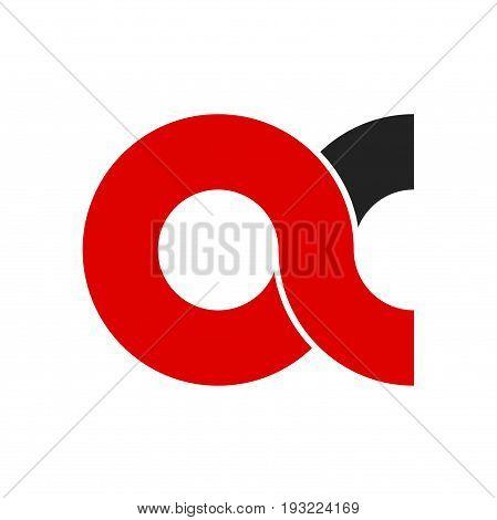 abstract ac letter logo design, ac letter logo design