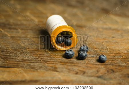 Perscription for blue berry antioxidant and healthy living